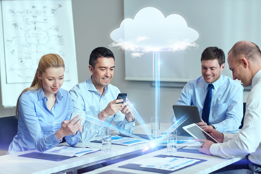 Reshaping the it infrastructure with cloud computing